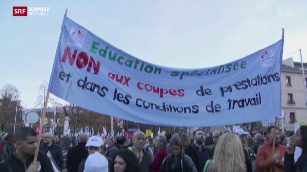 Video «Schweiz aktuell vom 10.11.2015» abspielen
