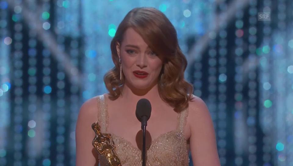 Emma Stone wird zur besten Hauptdarstellerin gekürt