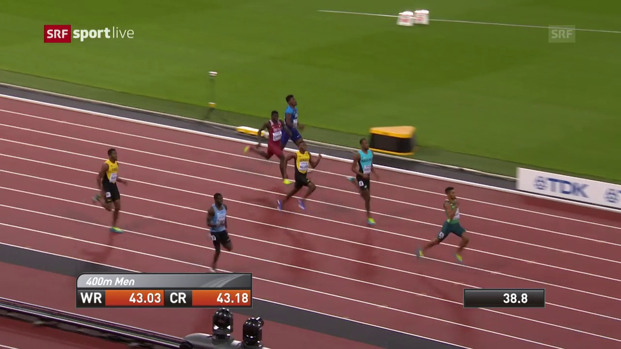 Der 400-m-Final in voller Länge