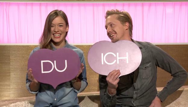 Video ««Ich oder Du» mit Eva Nidecker und Flurin Müller» abspielen