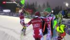 Video «Kristoffersen siegt beim Slalom in Levi» abspielen