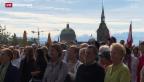 Video ««Gebet voraus» in Bern» abspielen