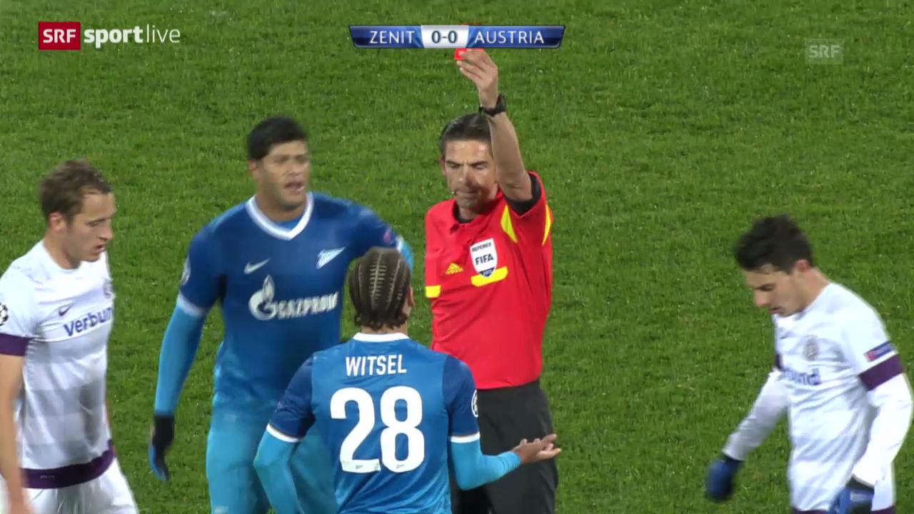 Fussball: Zenit St. Petersburg - Austria Wien («sportlive»)