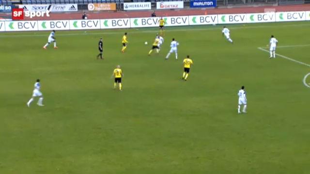 Fussball: Lausanne - YB