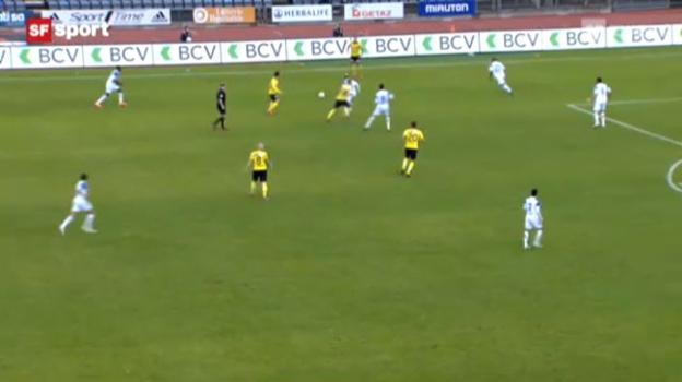 Video «Fussball: Lausanne - YB» abspielen