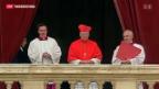 Video «Der Weg zum neuen Papst» abspielen