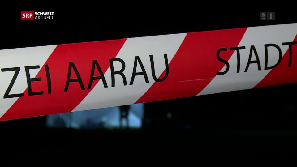 Aus dem Archiv: Polizei erschiesst bewaffneten Mann in Suhr AG