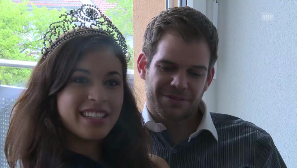 Miss Earth Schweiz und ihr Freund: Was sie am anderen lieben