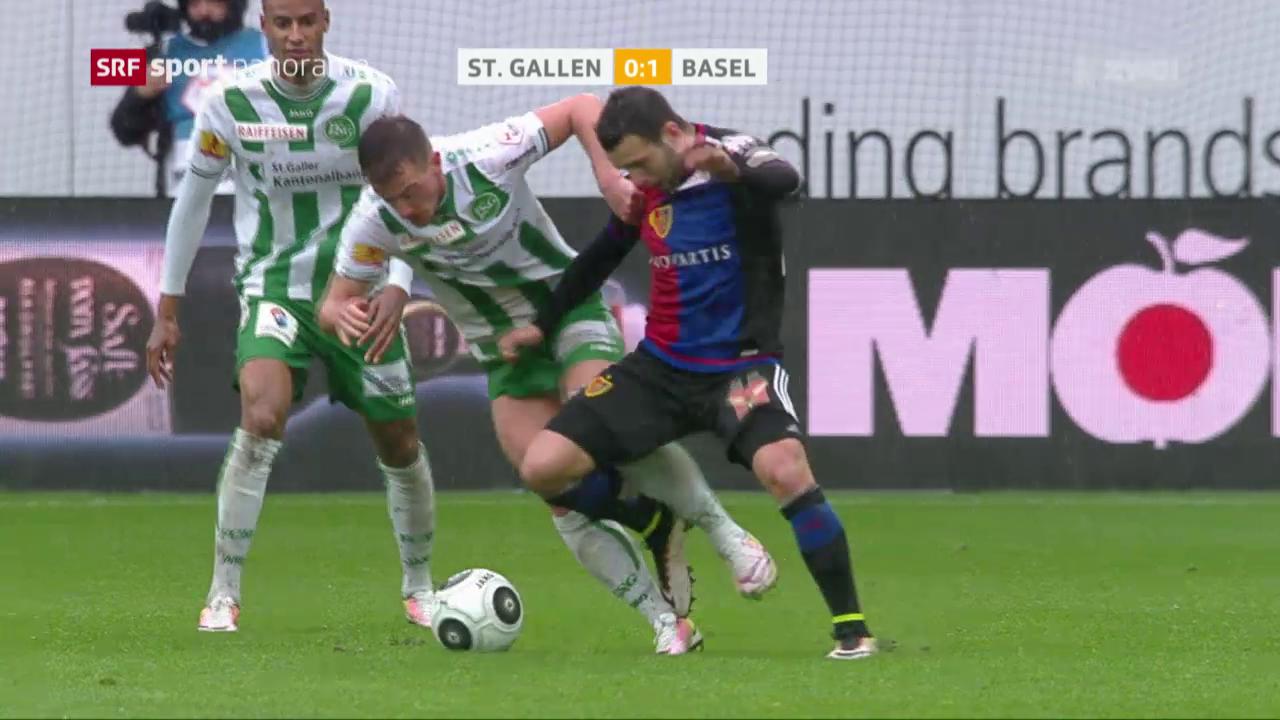 St. Gallen kommt gegen Basel unter die Räder