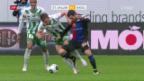 Video «St. Gallen kommt gegen Basel unter die Räder» abspielen