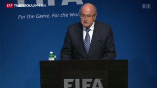 Video «Nach dem Rücktritt Sepp Blatters» abspielen