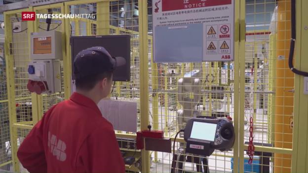 Video «ABB profitiert von erneuerbaren Energien» abspielen
