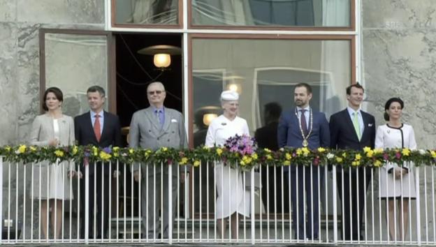 Video «So feiert Königin Margrethe ihren 75. Geburtstag» abspielen
