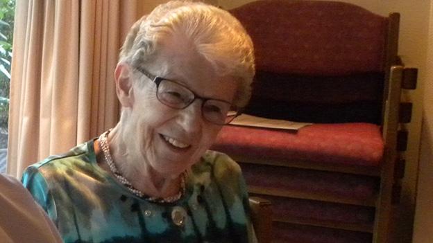 Claire Greber-Muff erzählt aus ihrem Leben