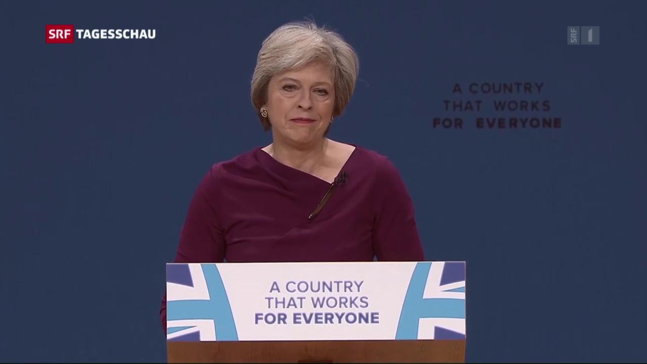 Theresa May fordert harten Schnitt