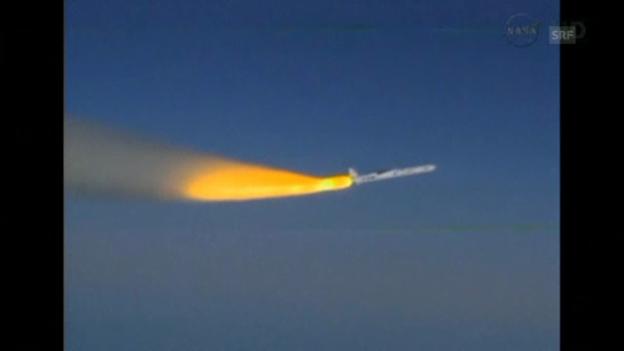 Video «Satellit Iris erfolgreich gestartet (unkomm.)» abspielen