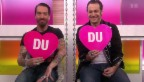 Video ««Ich oder Du»: Alec Völkel und Sascha Vollmer von «The BossHoss»» abspielen
