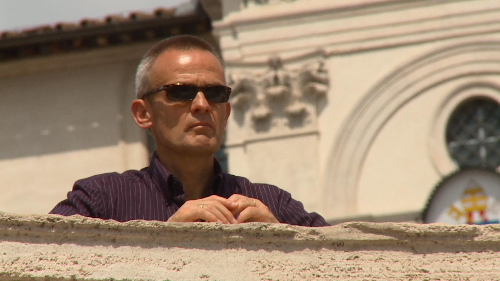 Frowin Bachmann (52), Rom