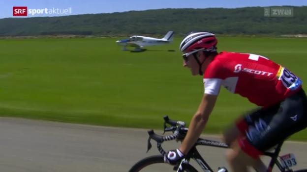 Video «Rad: Tour de France, 11. Etappe» abspielen