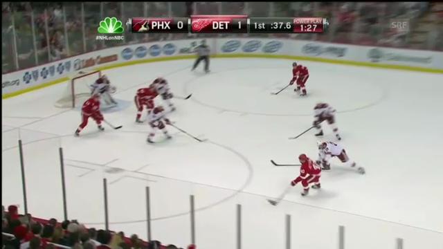 NHL: Skorerpunkte von Damien Brunner