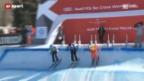Video «Skicross: Rang 3 für Armin Niederer» abspielen