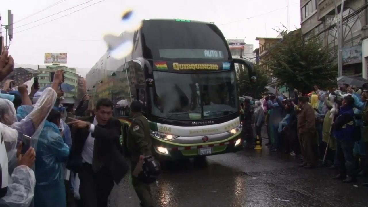 Diese Reise hätte sich Argentinien sparen können (Quelle: SNTV)