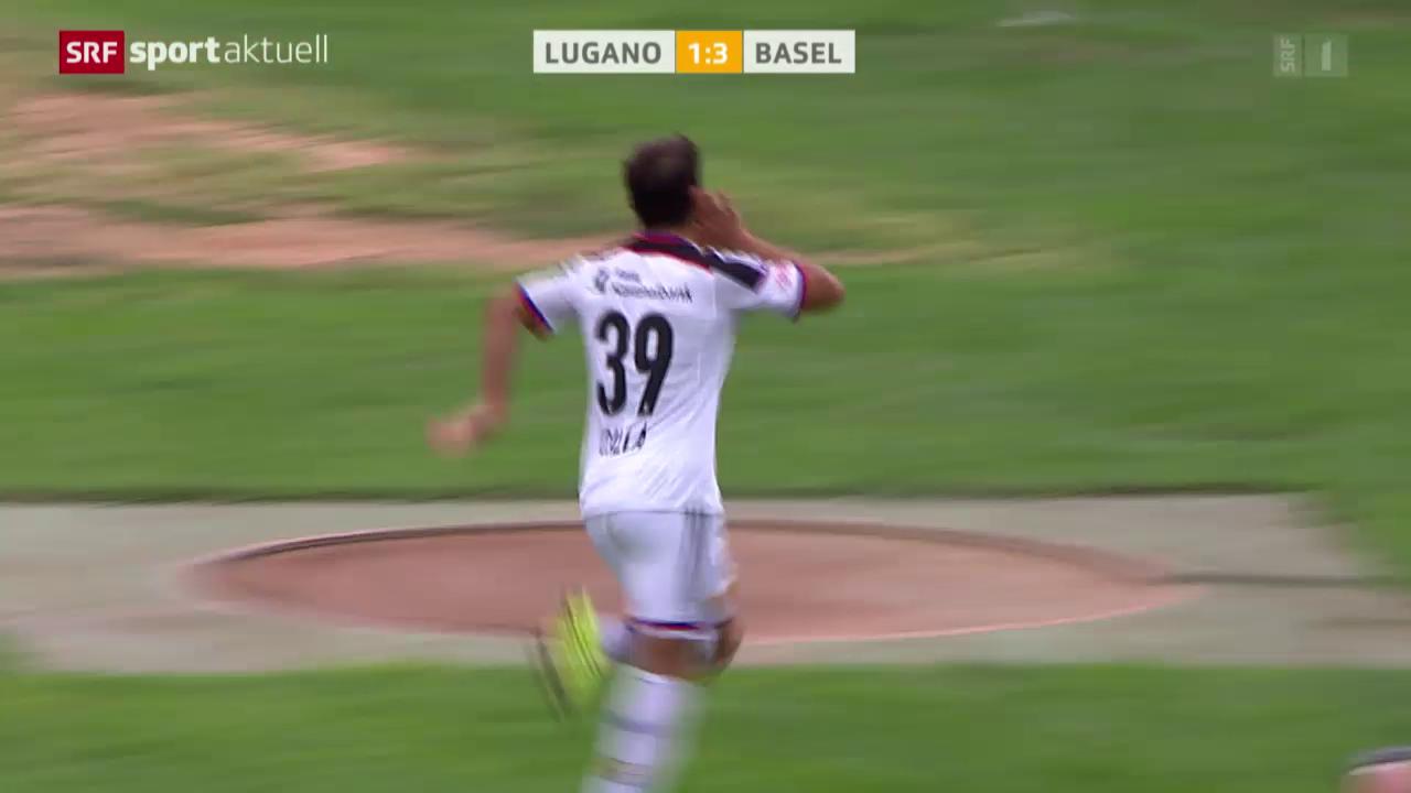 Fussball: Super League, Lugano - Basel