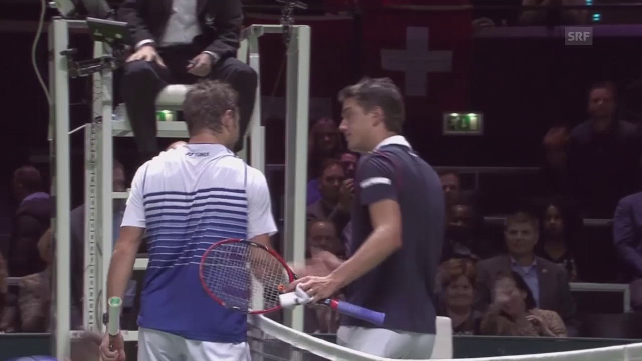 Tennis: ATP Rotterdam, Stan Wawrinka - Jesse Huta Galung