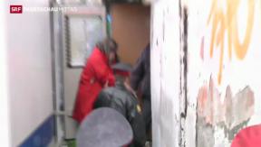 Video «Greenpeace-Aktivisten in russischer Haft» abspielen