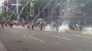 Video «Armut in Venezuela: eine Reportage aus Caracas» abspielen