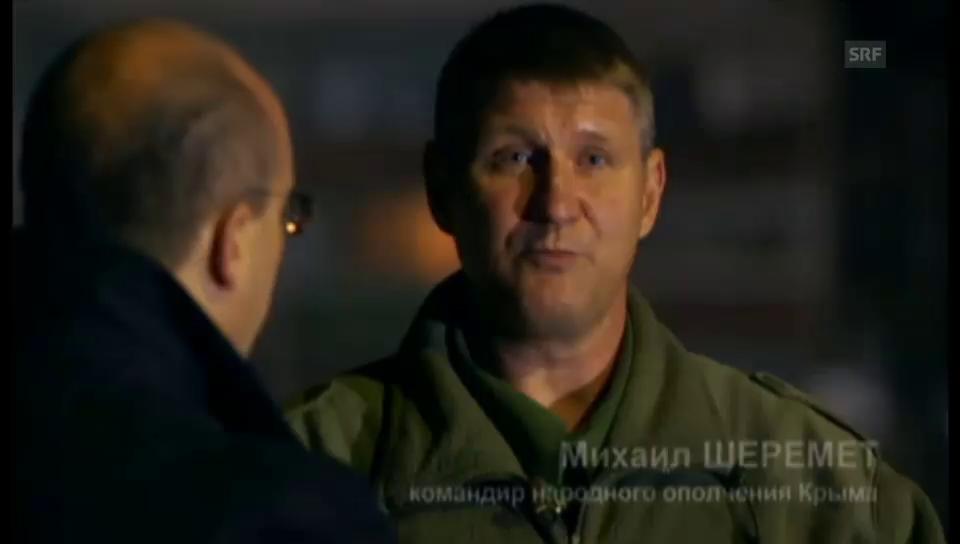 Krim-Milizkommandant über Heimaterde und Faschisten