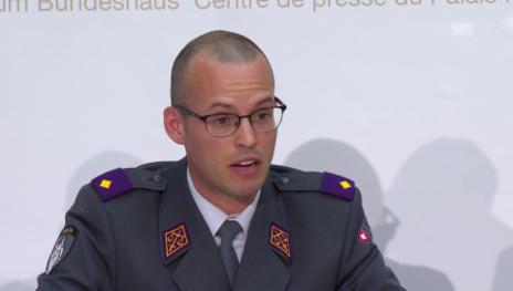 Video «Untersuchungsrichter der Militärjustiz über offene Fragen» abspielen