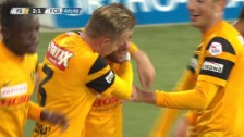 Video «Fussball: 9. Runde Super League, YB-Basel, 2:1 Sulejmani» abspielen