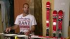 Video «Sportlegende: Didier Défago bleibt dem Skisport treu» abspielen