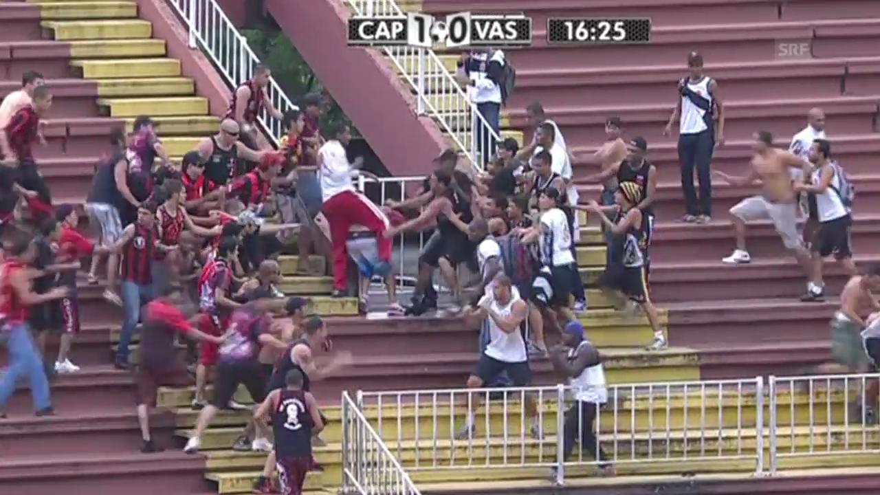 Brutale Ausschreitungen in Brasiliens Top-Liga
