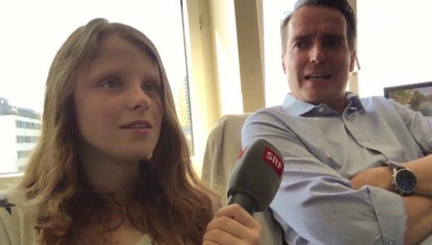 Video «Malin meets Florian Inhauser» abspielen