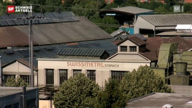 Video «Swissmetal stoppt Produktion in Dornach» abspielen