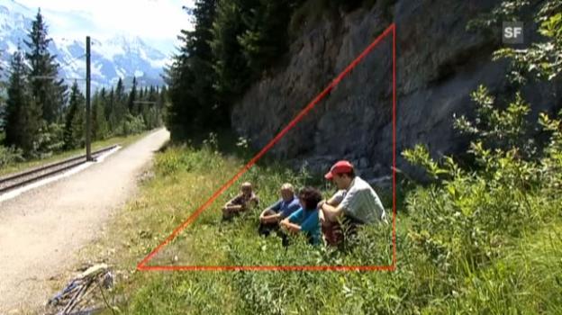 Video «Wertvolle Tipps: Was tun bei Gewitter in den Bergen?» abspielen
