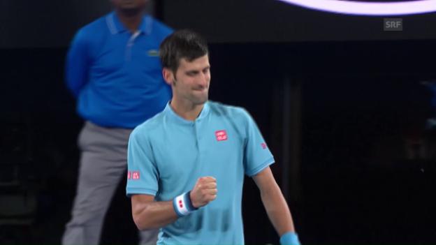 Video «Live-Highlights Djokovic-Verdasco» abspielen