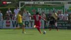 Video «Fussball: Echallens - Thun» abspielen