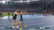 Video «Der Finish im 1500-m-Rennen der Männer» abspielen