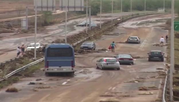 Video «Das Unwetter hinterliess grosse Zerstörung» abspielen
