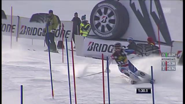 Ski: Der 2. Lauf von Dominique Gisin im Slalom in Maribor