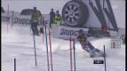 Video «Ski: Der 2. Lauf von Dominique Gisin im Slalom in Maribor» abspielen