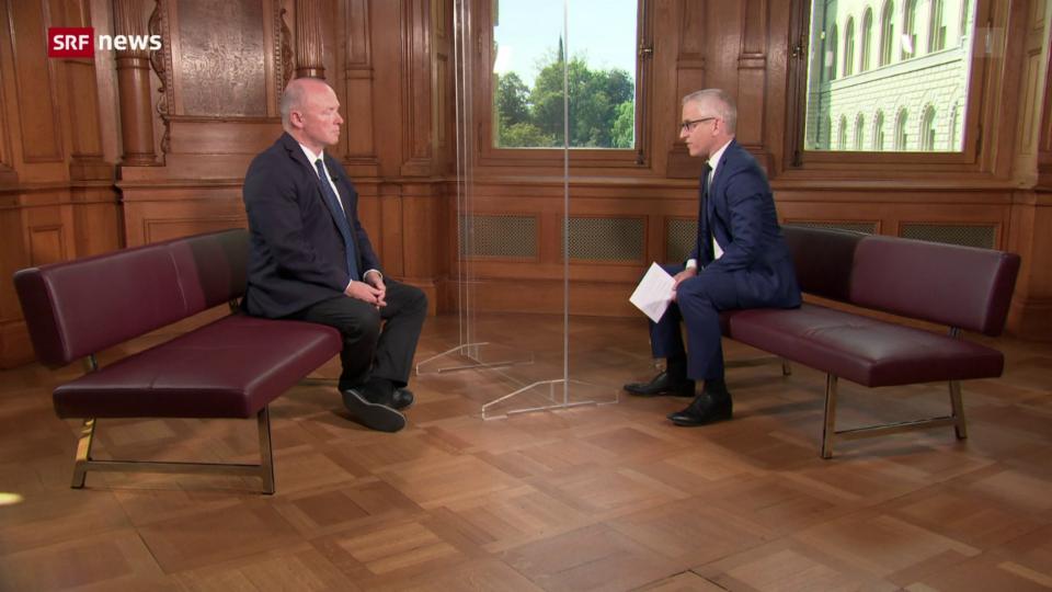 Interview zum Tag mit Nationalratspräsident Andreas Aebi