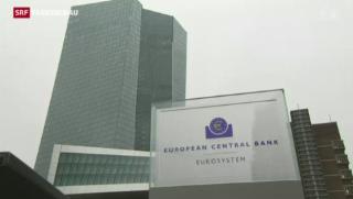 Video «Die EZB will Hunderte Milliarden Euro in die Wirtschaft pumpen» abspielen