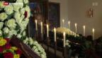 Video «Maximilian Schell beigesetzt» abspielen