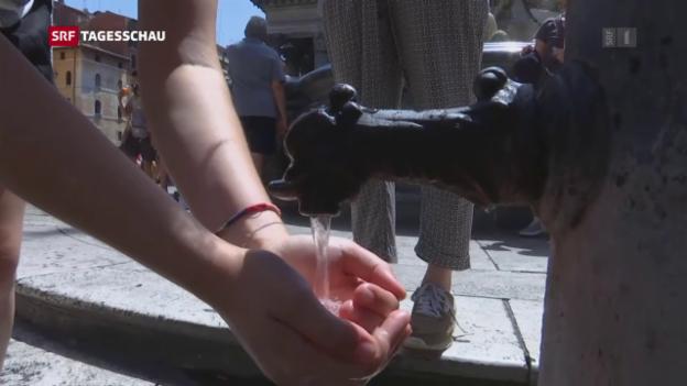 Video «Europa im Hitzestress» abspielen