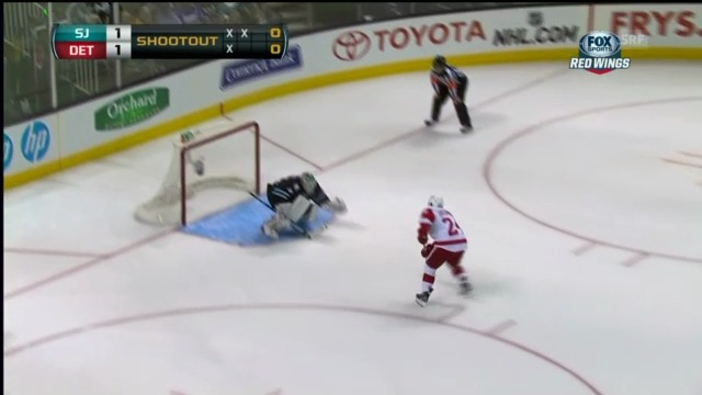 Eishockey: Highlights San Jose - Detroit