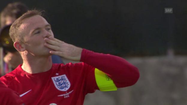 Video «Fussball: EM-Quali, Gruppe E, San Marino - England» abspielen
